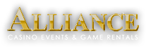Alliance Game Rentals Logo